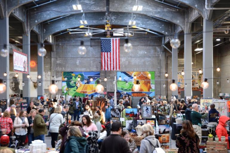 Art on Vine at Rhinegeist Photo #2