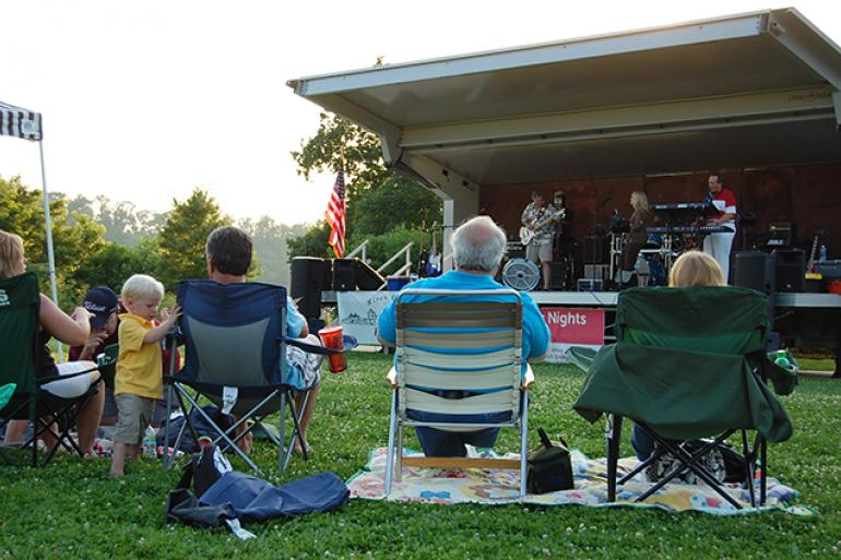 Summer Concerts In The Park Miami Whitewater Forest
