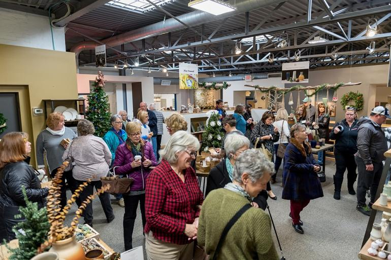 Holiday Open House at Rookwood Pottery Photo #0