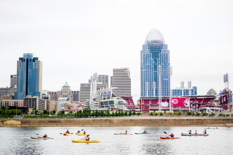 Ohio River Paddlefest Photo #2