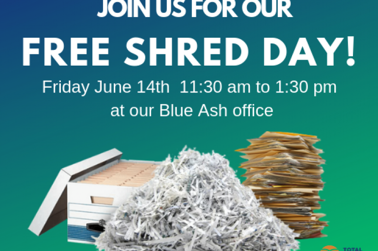 Shred Day 2019 | North Cincinnati | Special Events, Earth Day