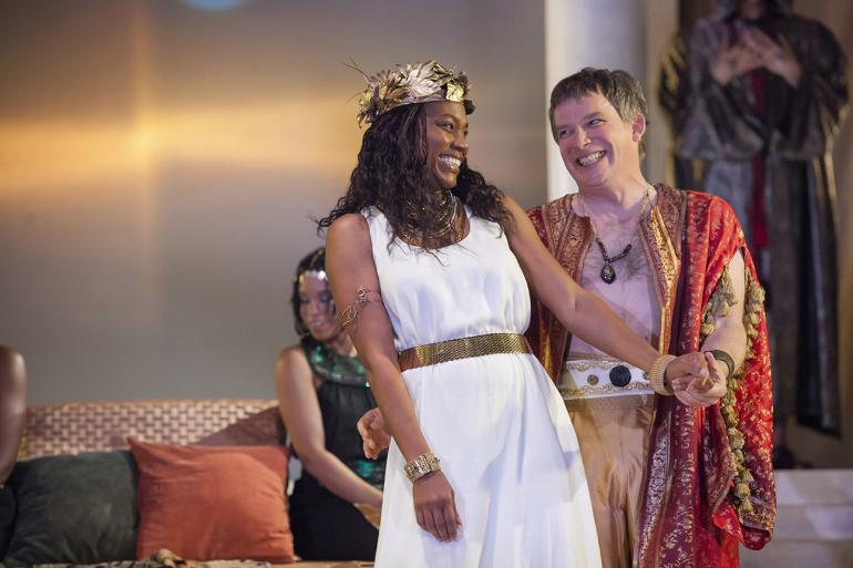 Antony & Cleopatra at Cincinnati Shakespeare Company (photo: Cincinnati Shakespeare Company)