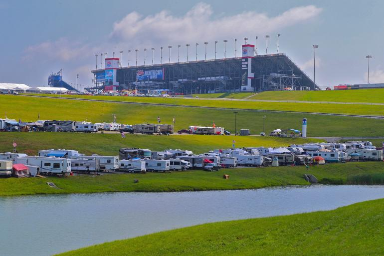 NASCAR Racing at Kentucky Speedway Photo #6