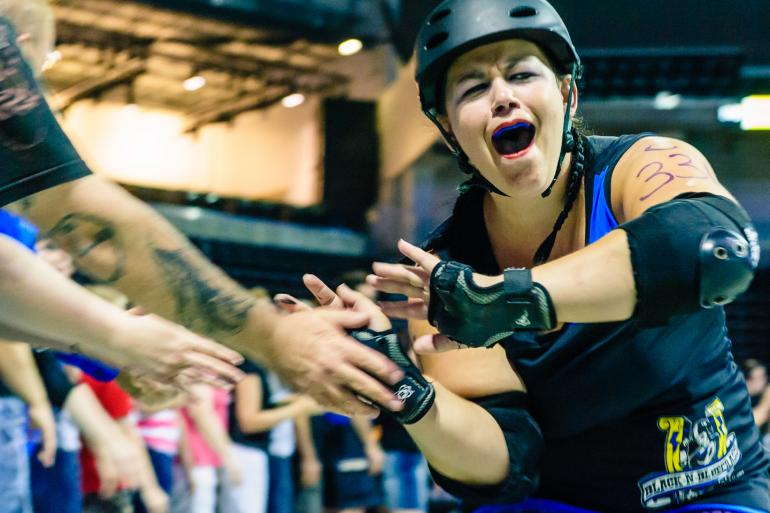 Black-n-Bluegrass Roller Girls Photo #0