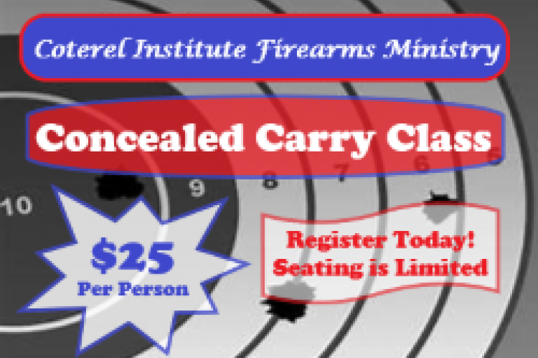 Conceal Carry Certification Training Photo #0