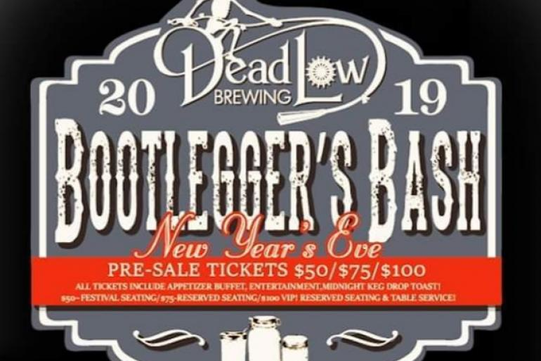Dead Low Brew Year's Eve Bootlegger Bash featuring Sweet Alice! Photo #0