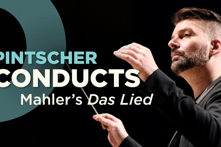 Pintscher Conducts Mahler's The Song of the Earth at Music Hall Photo #0