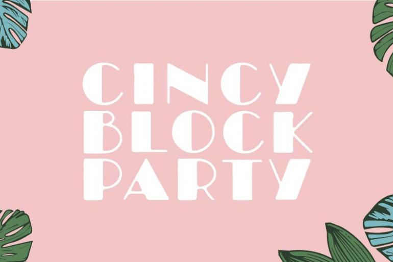 Cincy Block Party Photo #0