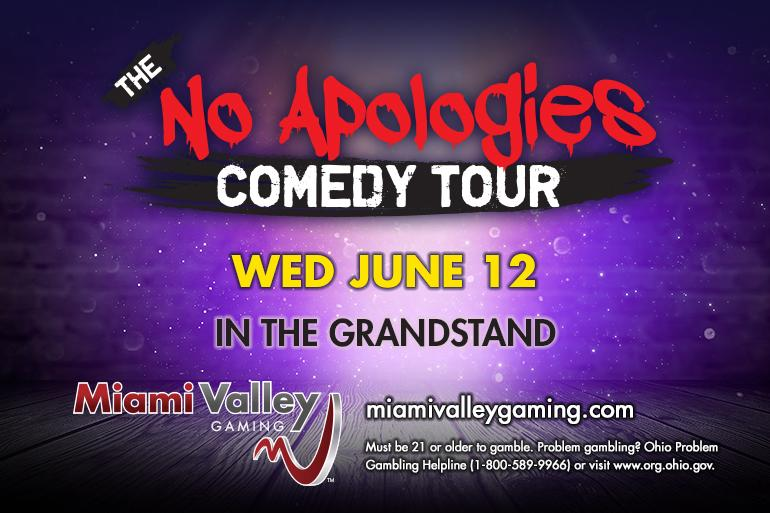 No Apologies Comedy Tour at Miami Valley Gaming Photo #0