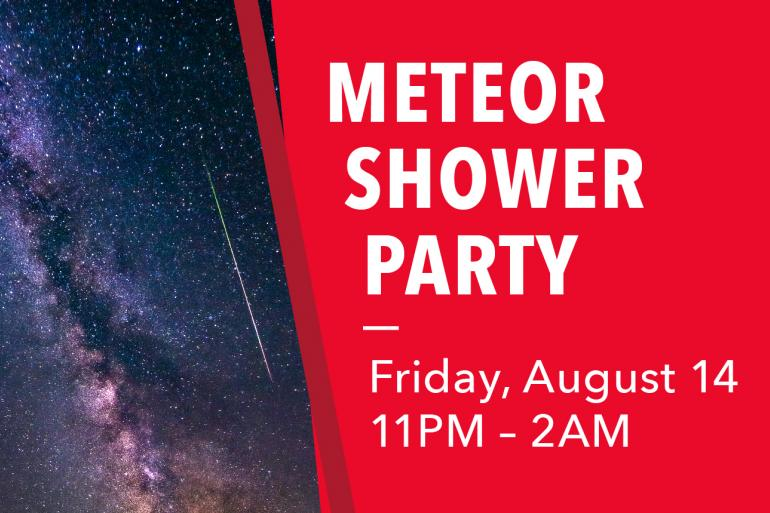 Meteor Shower Party Photo #0