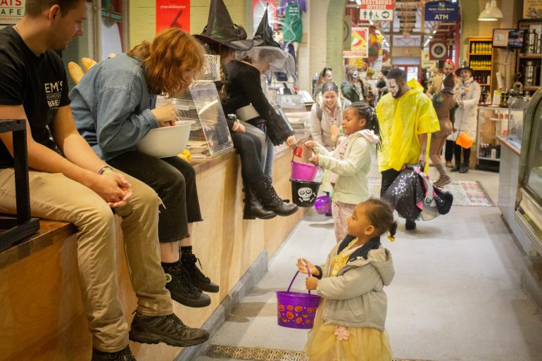 Trick or Treat at The Findlay Market Photo #0