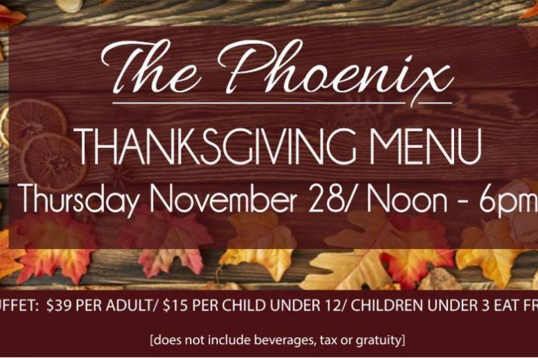 Thanksgiving Day Buffet at The Phoenix Photo #0