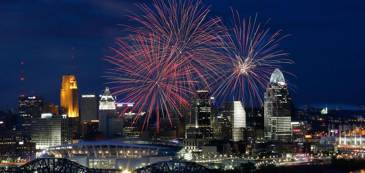 Fourth of July and Fireworks