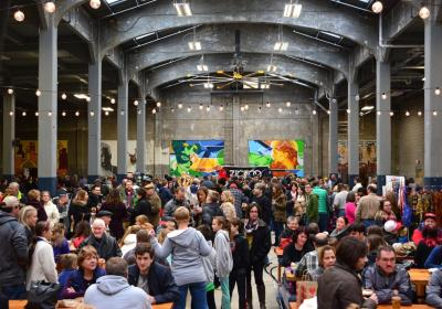Art on Vine at Rhinegeist