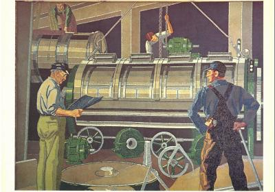 Winold Reiss: Studies for the Union Terminal Worker Murals