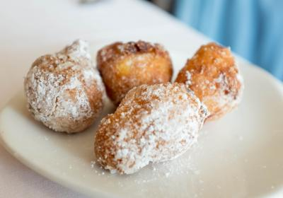 Beignets at Red Feather (photo: Cincinnati Nomerati)