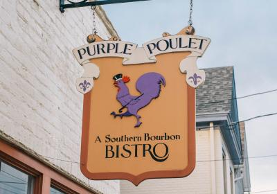 The Purple Poulet, part of The B-Line (photo: Samuel Greenhill)