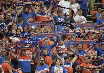 FC Cincinnati crowd