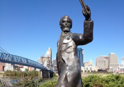 John A. Roebling, Northern Kentucky Riverwalk Statue Tour