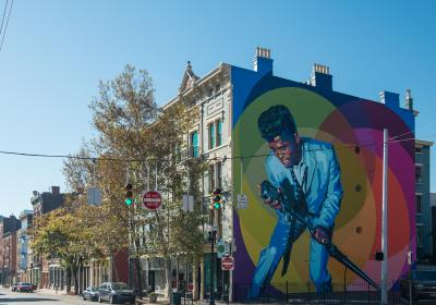 "ArtWorks Mural ""Mr. Dynamite"""