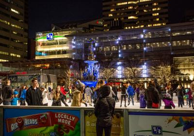 Fountain Square Ice Rink