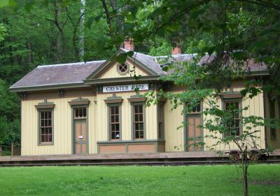 Heritage Village Museum - Chester Park Train Station