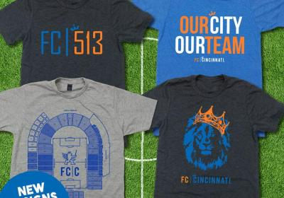 Cincy Shirts FC Cincinnati apparel