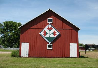 Kentucky Lily Barn Quilt