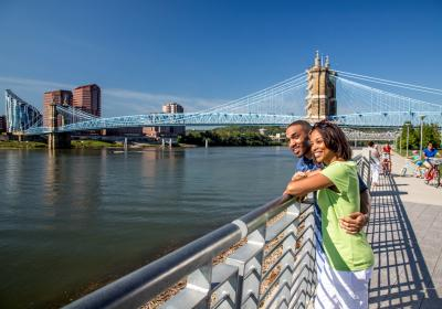 Roebling Suspension Bridge (photo: CincinnatiUSA.com)