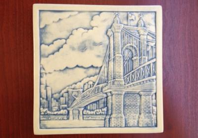 Rookwood tile, Roebling Bridge