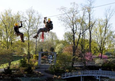 Zip Line and Canopy Adventure Tours at Creation Museum