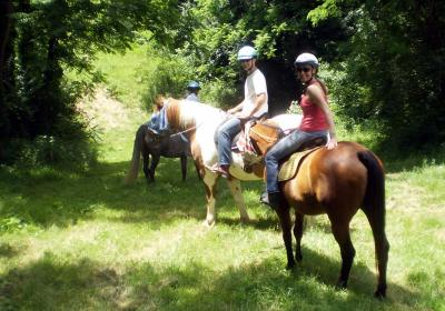 Horseback Riding at First Farm Inn