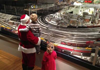 Holiday Junction Featuring the Duke Energy Holiday Trains