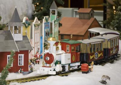 Christmas at EnterTRAINment Junction