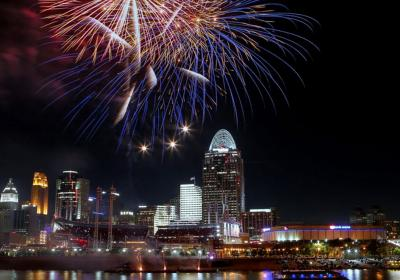 Labor Day & Riverfest Fireworks Cruise