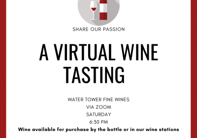 A Trip Down Under--Virtual Wine Tasting with Australian Wines