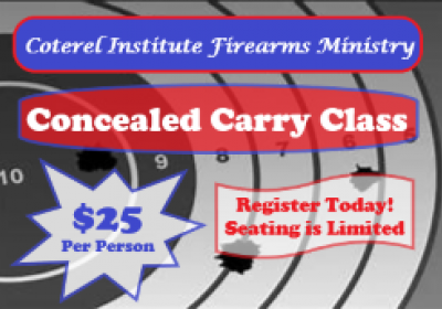 Conceal Carry Certification Training
