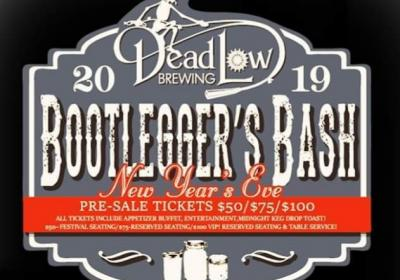 Dead Low Brew Year's Eve Bootlegger Bash featuring Sweet Alice!