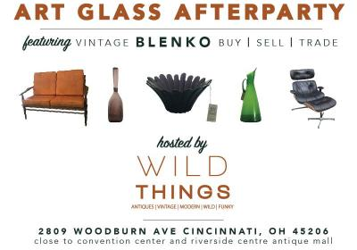 Wild Things Mid-Century and Art Glass Afterparty
