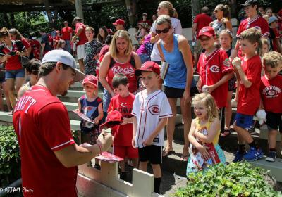 Reds Day at the Zoo