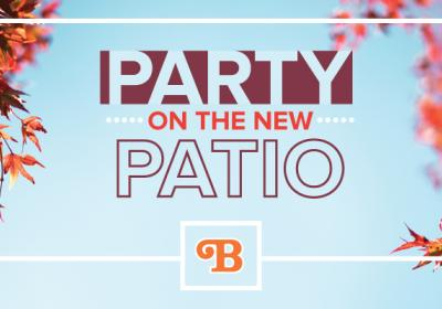 Barleycorn's: Party on the Patio/Grand Reopening