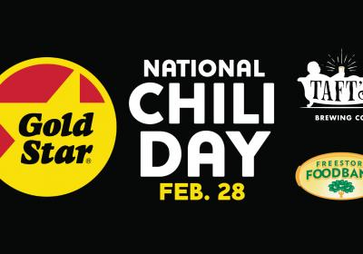 National Chili Day Party with Gold Star Chili & Taft's Brewing Co