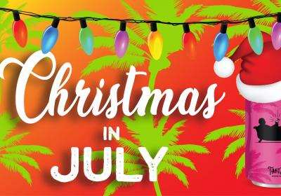 Christmas in July at Taft's