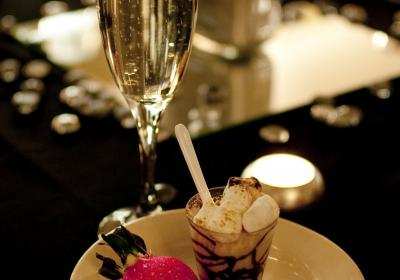 Chocolate, Champagne, and Candlelight