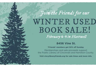 The Friends' Winter Used Book Sale