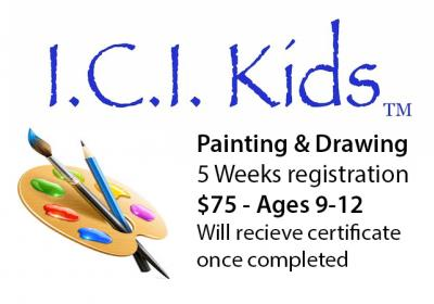 I.C.I. Kids 2018 Fall Painting & Drawing Series for ages 5-13