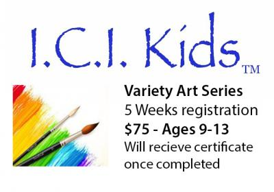 I.C.I. Kids 2018 Fall Variety Art Series for ages 5-13