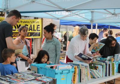 The Friends' of the Public Library Fall Used Book Sale