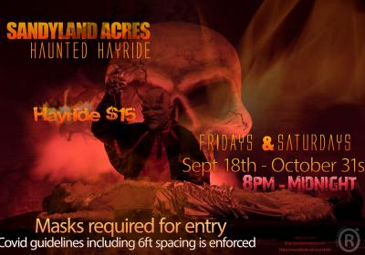 Sandylandacres Haunted Hayride