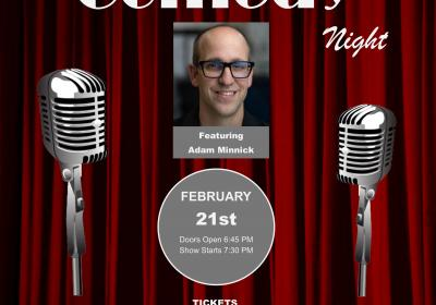 NKCAC Presents Comedy Night